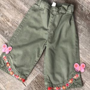 Gymboree Tea Garden Pants 3T